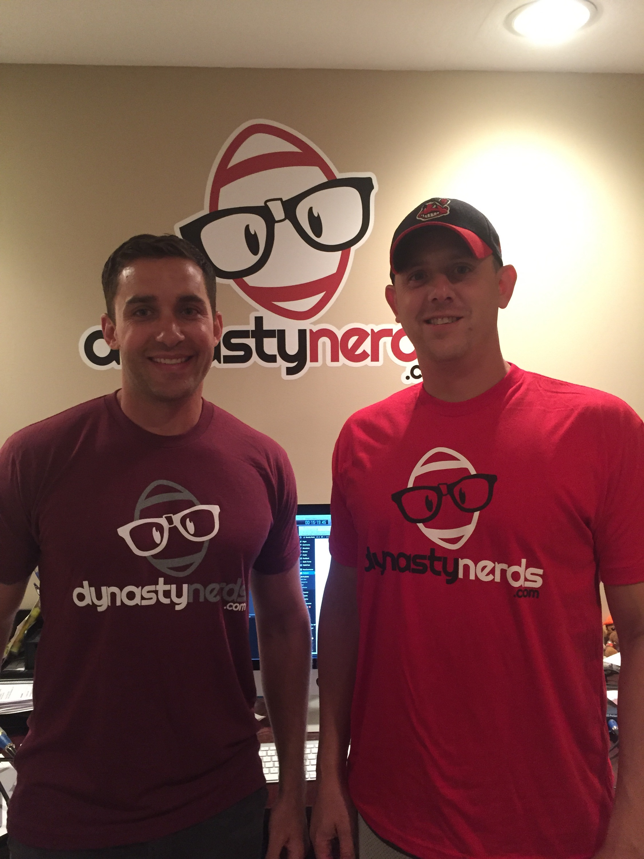 dynasty nerds logo t shirt tri blend dynasty nerds