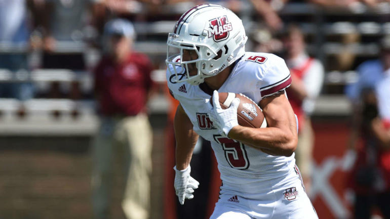 andy isabella running umass wr