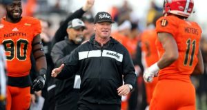 gruden coaching senior bowl