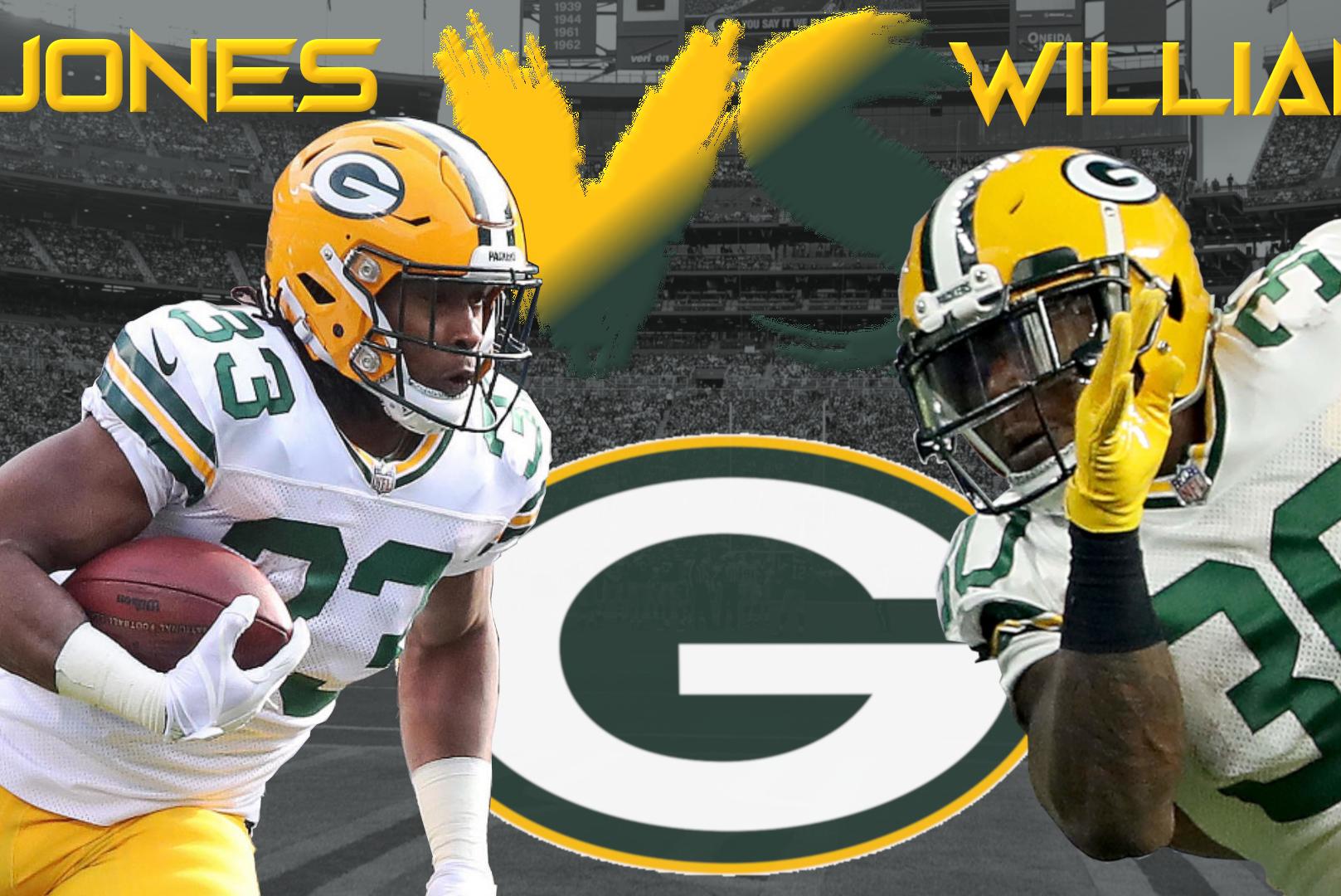 Backfield Battles Aaron Jones Vs Jamaal Williams Dynasty Nerds