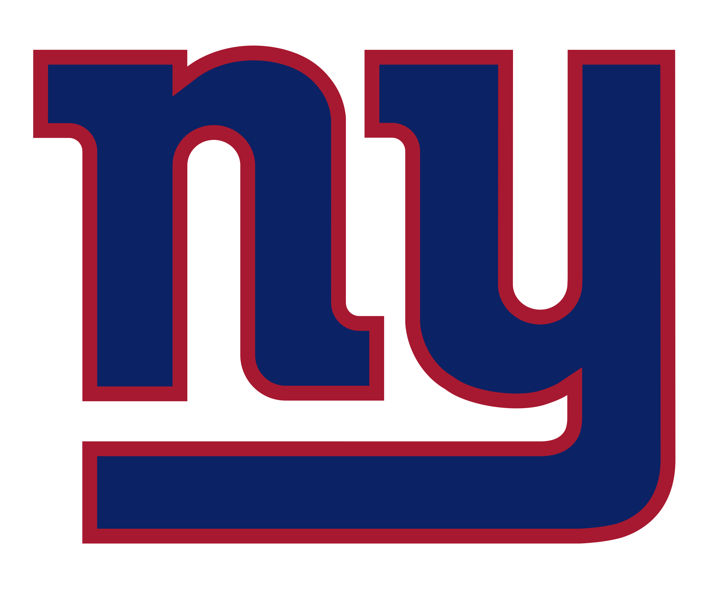 It's just an image of Crafty New York Giants Logos