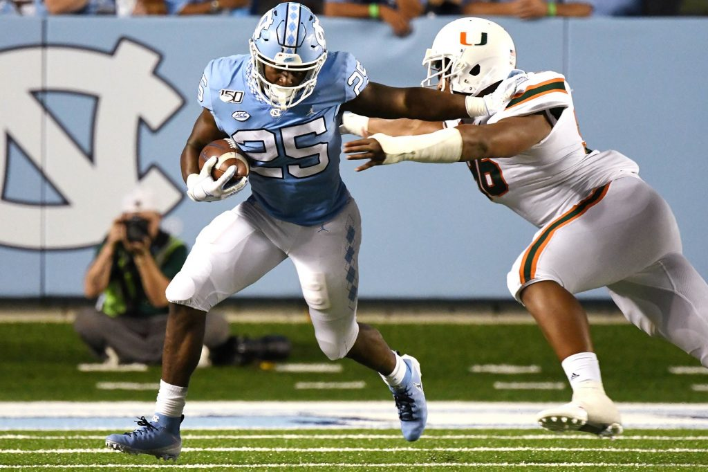 Javonte Williams (UNC Athletics)