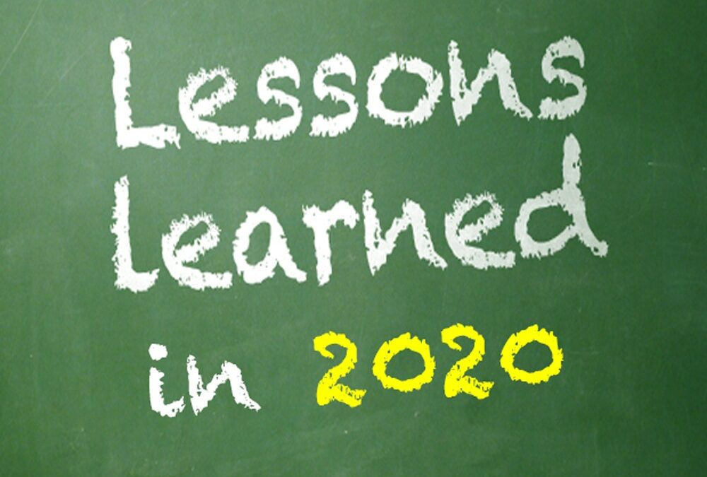 Lessons from 2020 (Ferny Hill Retreat)